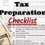 Mauriello Enterprises's 2017 Tax Preparation Checklist