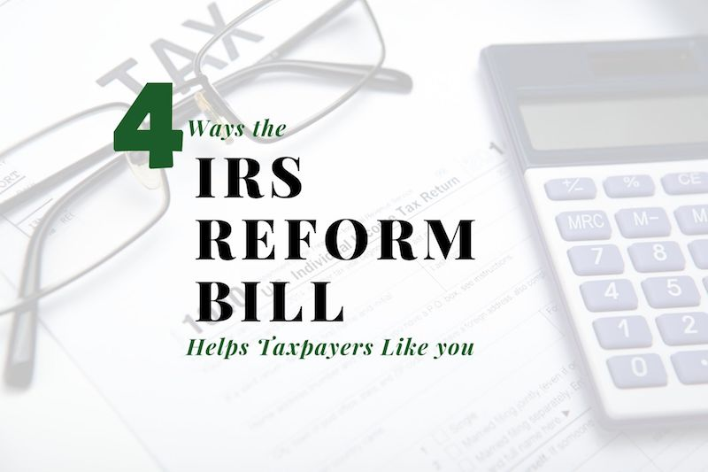 Four Ways the IRS Reform Bill Helps Staten Island Taxpayers Like You (and Me)